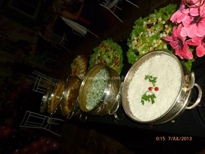 Mesa buffet 3
