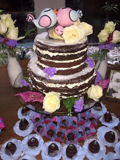 Naked Cake Baunilha