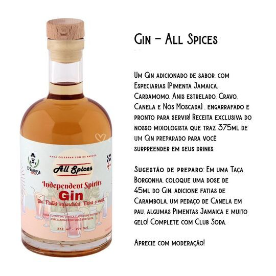 GIN ALL SPICES