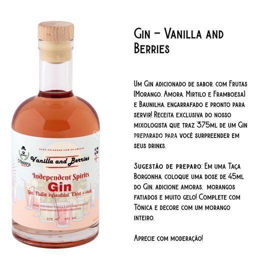 GIN - VANILLA E BERRIES