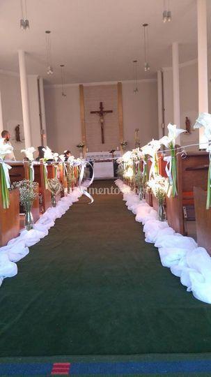 Corredor da Igreja