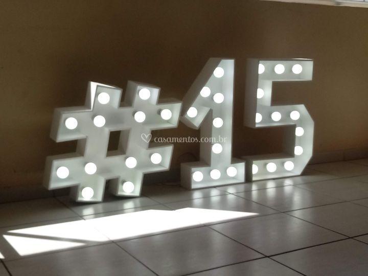 Letras Luminosas em led