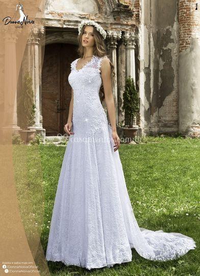 Vestido de Noiva Donna Noiva