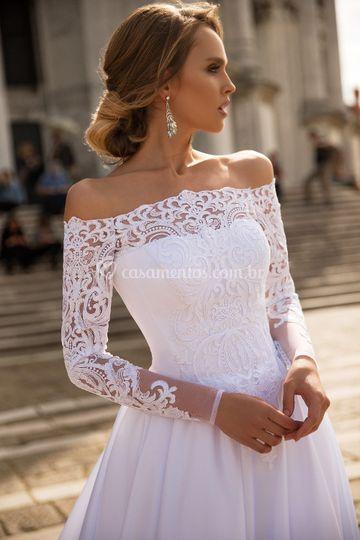 Vestido de Noiva Cortejo
