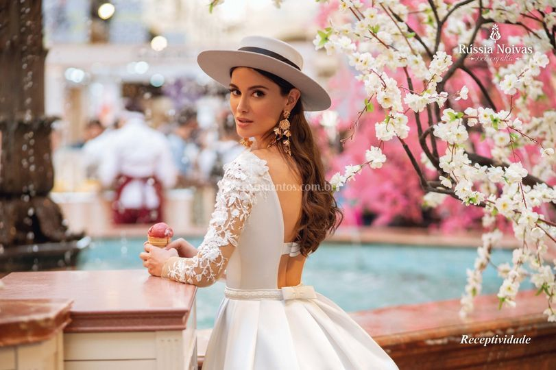 Vestido de Noiva Receptividade