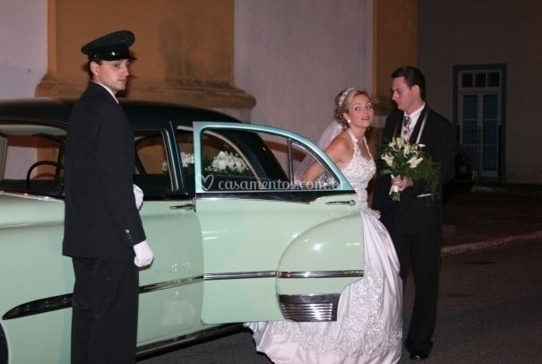 O transporte da noiva
