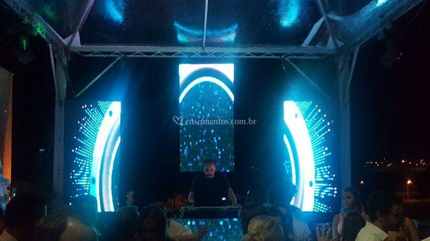 Cenário DJ casamento