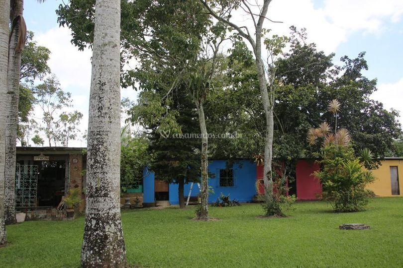 Villa de casas decorativas