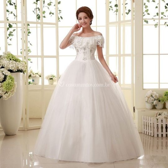 Vestido de Noiva A70