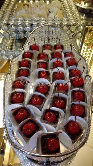 Cestinha de cerejas
