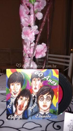 CD personalizado c/ caricatura