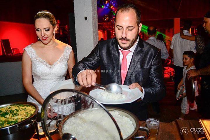 Jantar de casamento