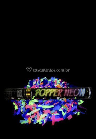 Lança Confetes Neon
