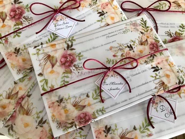 Envelope Vegetal Marsala