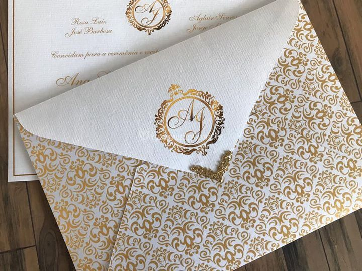 Envelope com ponteira