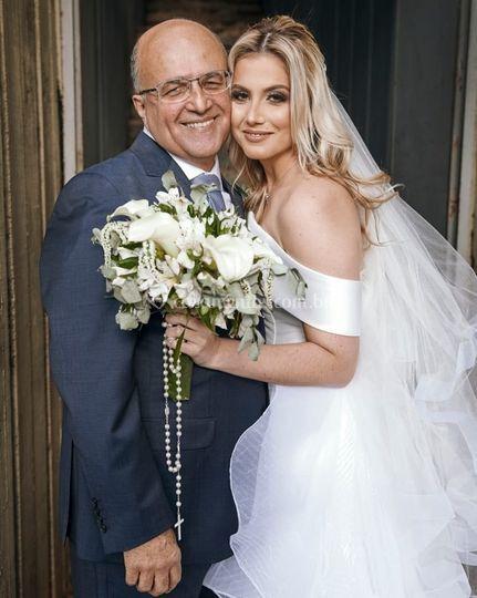 Pai e noiva
