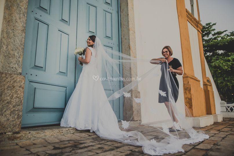 Momento só eu e a noiva