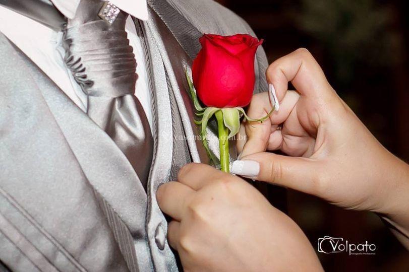Corsage para o noivo