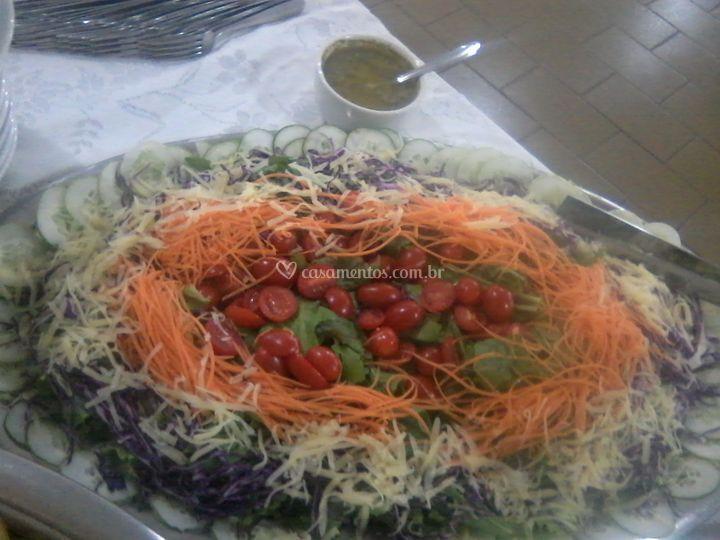 Salada folhas