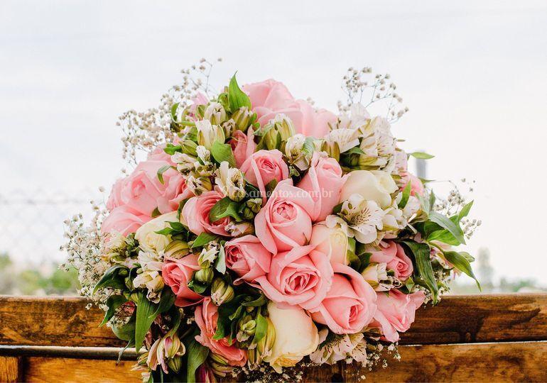 Encanto com rosas Pink