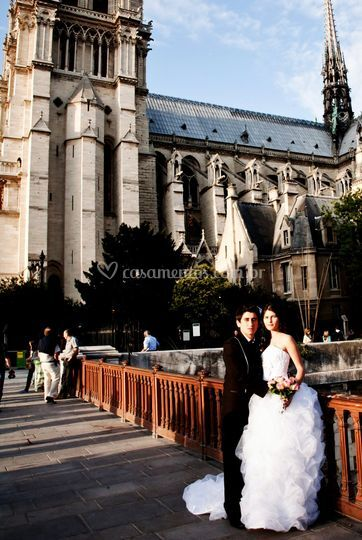 Notre Dame Paris After Weding