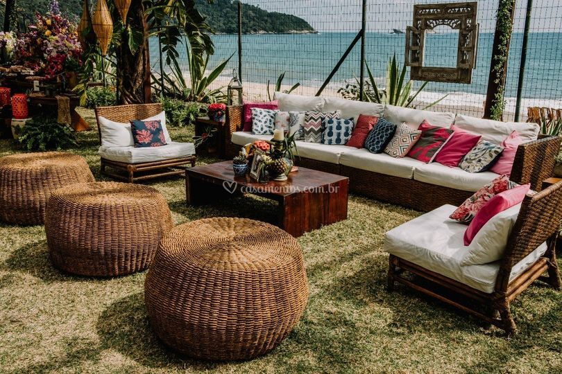 Lounges beira mar