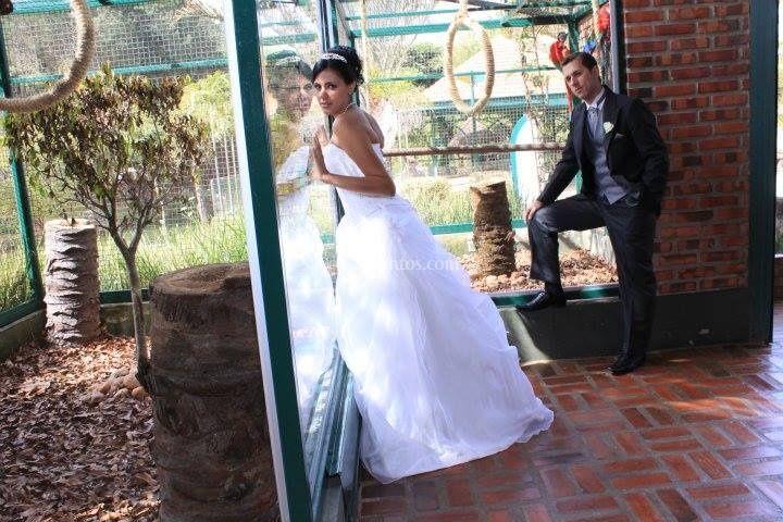 Mais uma noiva satisfeita