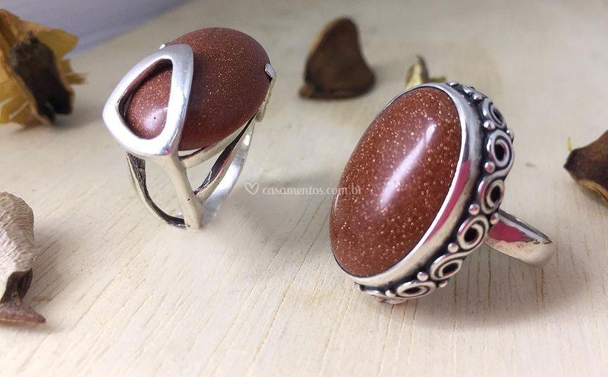Acessórios em pedras