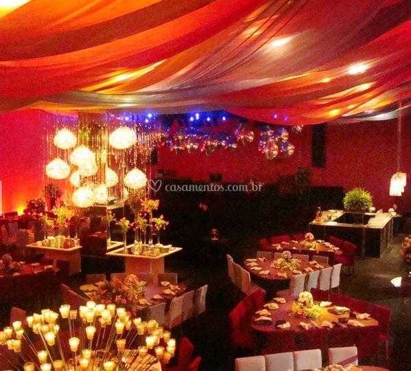 Iluminação para casamentos