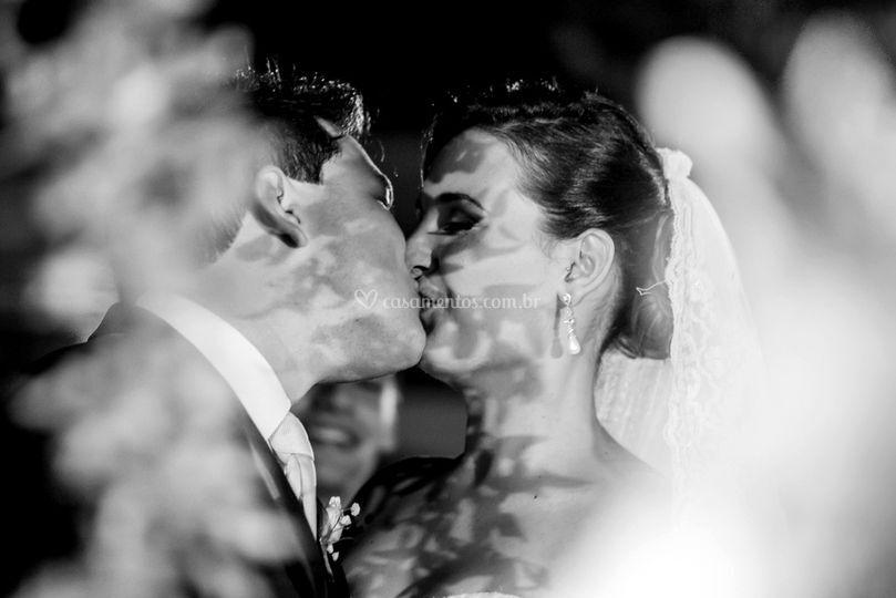 O momento do beijo