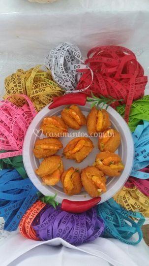 Mini acarajé