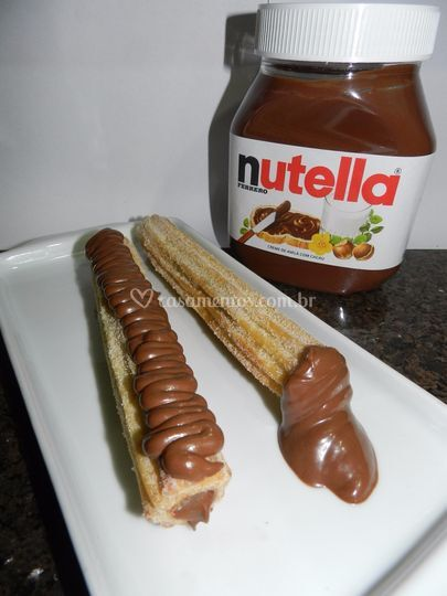 Churros nutella