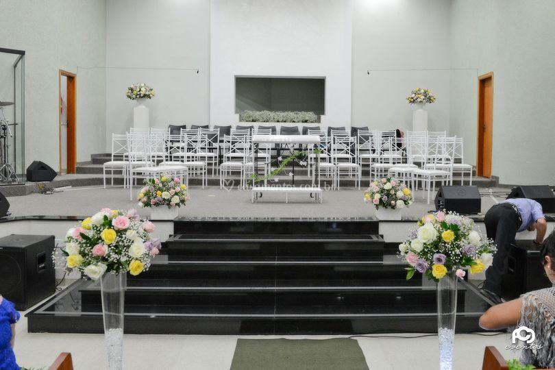 Layout Igreja