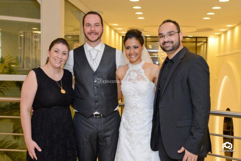 Dani, Roger, Ingrid e Rafael