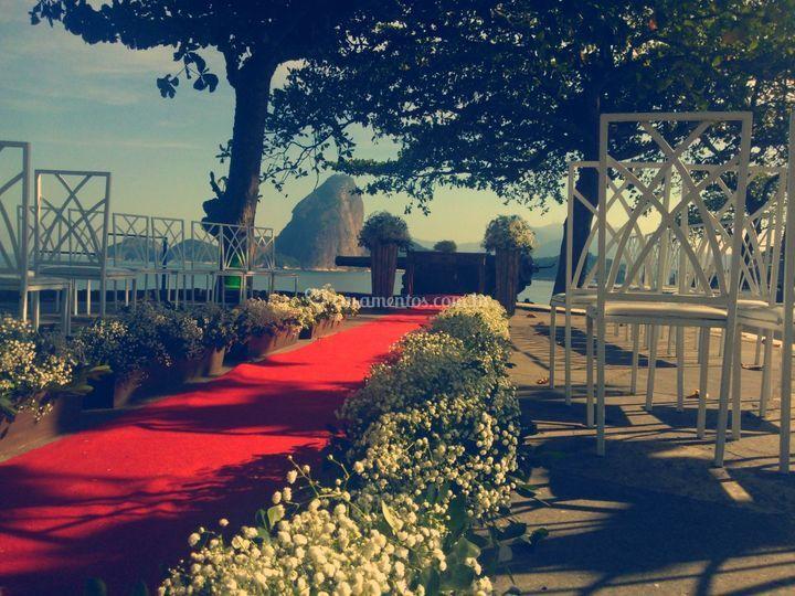 CerimôniaCerimônia ao ar livre