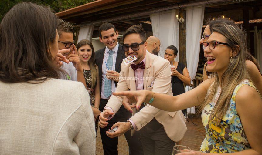 Circulando no Casamento