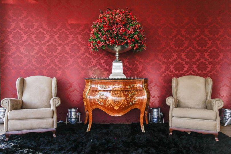 Lounge dos noivos