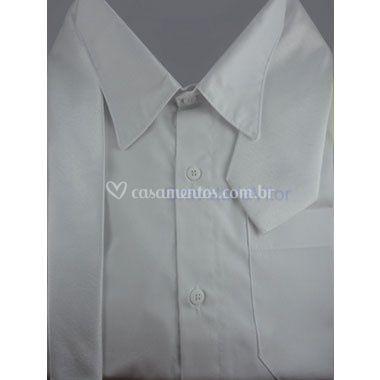 Gravata tradicional branca