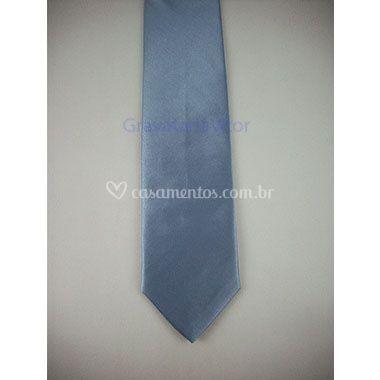 Gravata Azul Serenity Slim