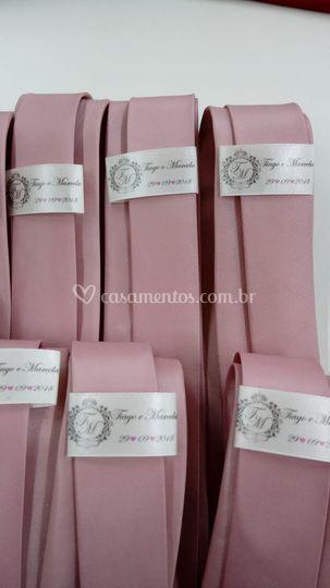 Gravata rose personalizada
