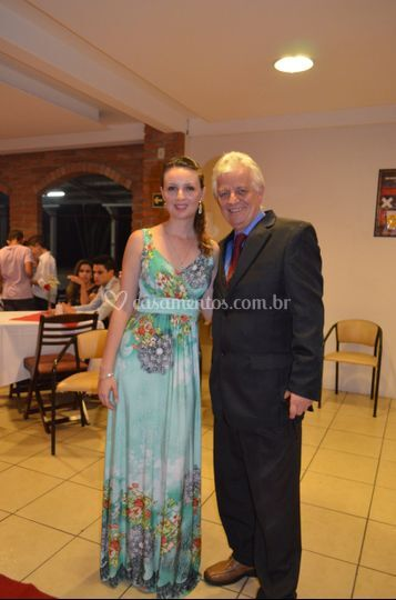 Celebrante romon e filha