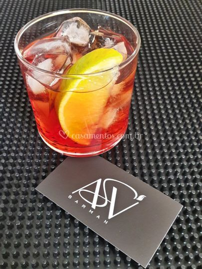 Negroni. Cocktail´s clássicos.