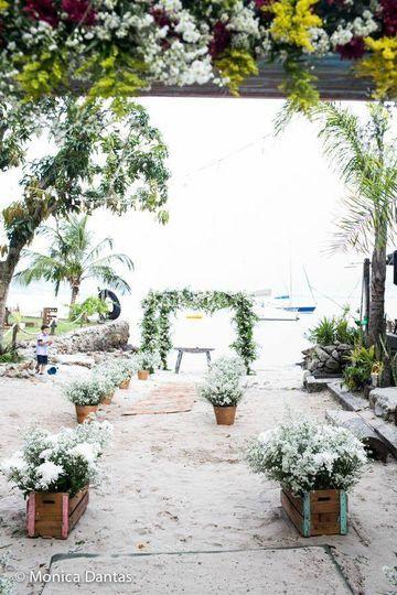 Cerimônia areia