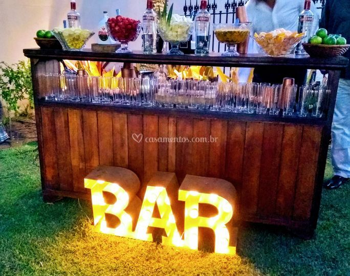 Bar luminoso