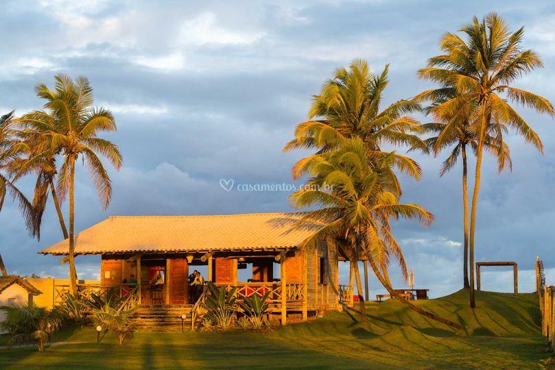 Entrada do Beach Lounge