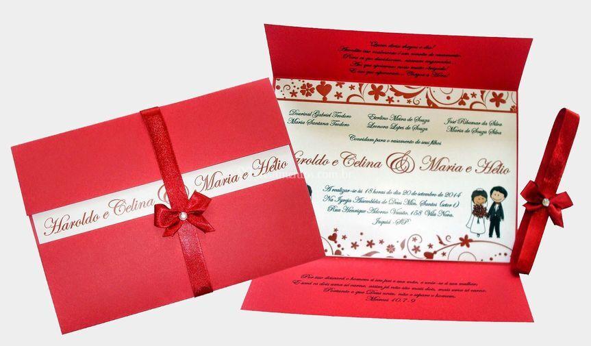Convites Casamento de Convites Finos