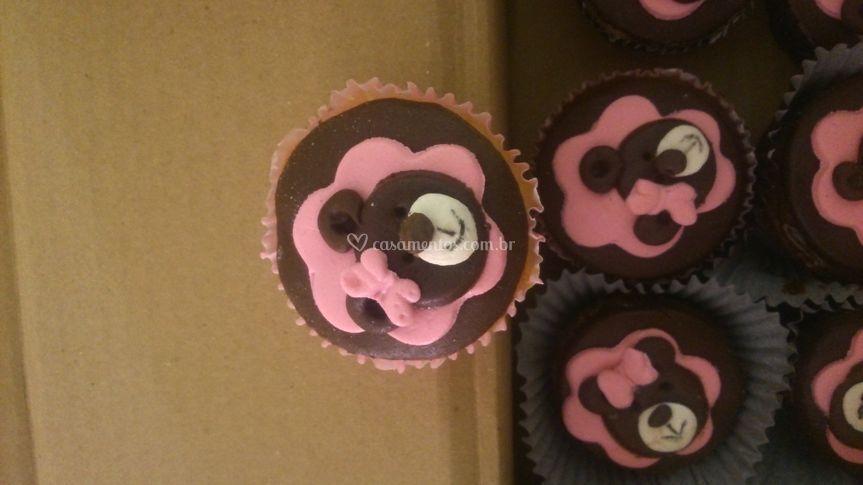 Cupcakes ursinha