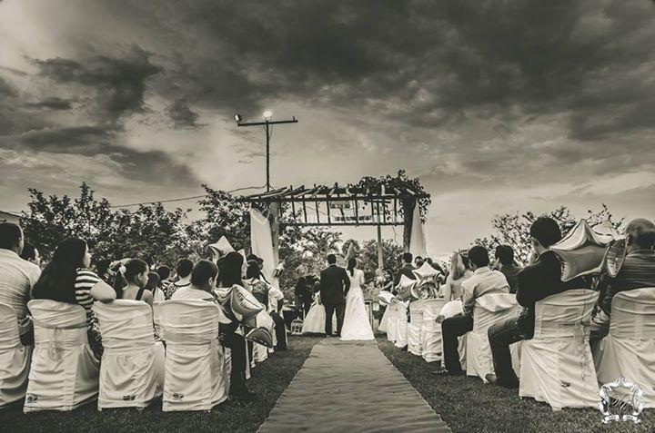 Fotografia da cerimônia