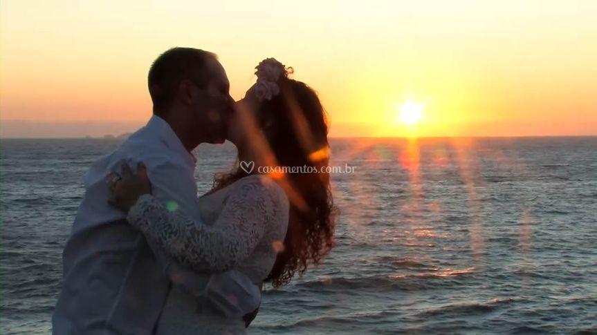 Beijo ao amanhecer