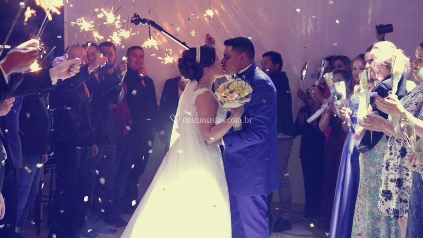 Frame video casamento
